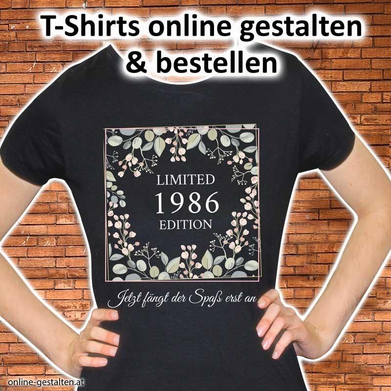 Geburtstagsshirt, Shirt Geburtstag, Shirt für Geburtstag, Geburtstagsgeschenk, Shirtmotive