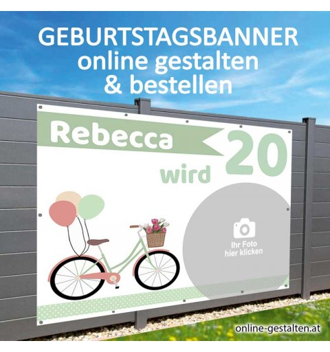 Geburtstagsbanner, Banner Geburtstag, Plakat Geburtstag