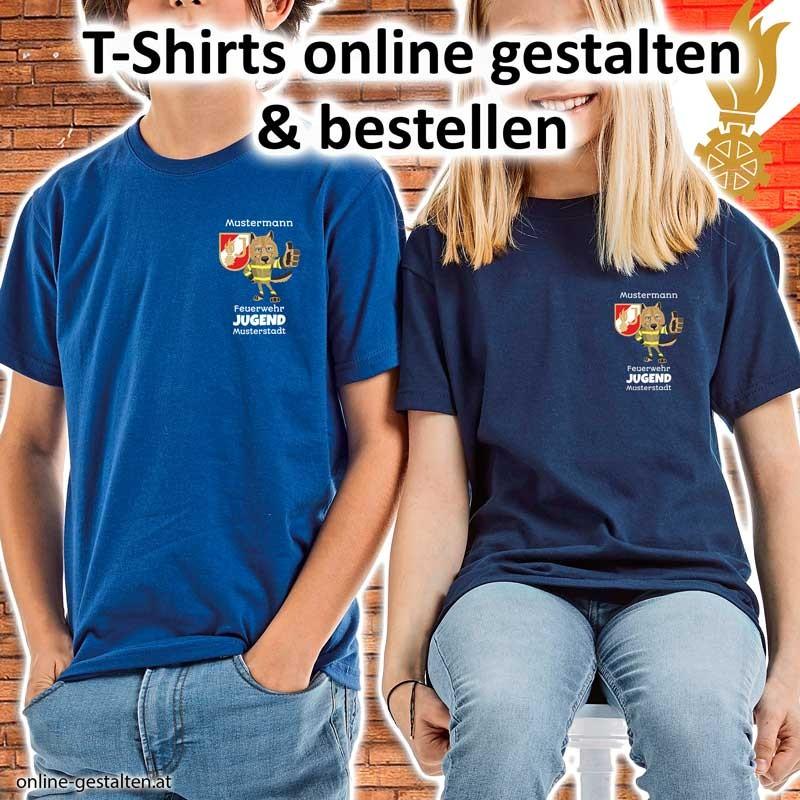 Shirt Feuerwehr, Feuerwehrshirt, Geburtstagsshirt, Jugendfeuerwehr