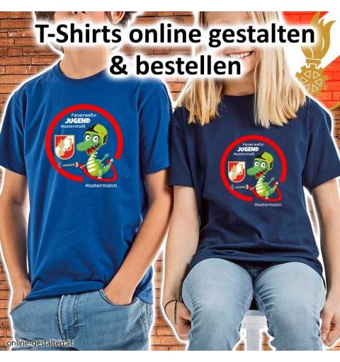 Shirt Feuerwehr, Feuerwehrshirt Kinder, Geburtstagsshirt, Jugendfeuerwehr, Shirt Feuerwehr Kinder
