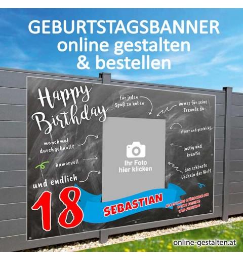 Geburtstagsbanner, Banner Geburtstag, Plakat Geburtstag, Geburtstagsgeschenk, Geburtstagsplakat