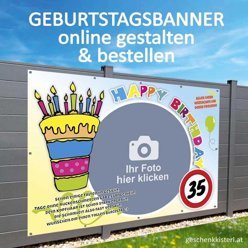 Geburtstagsbanner, Geburtstagsbanner, Banner zum Geburtstag, Transparent zum Geburtstag, Geburtstagstransparent
