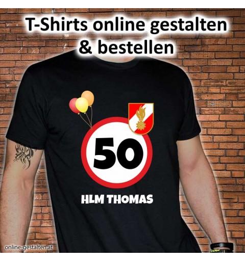 Geburtstagsshirt, Shirt für Geburtstag, Geburtstagsgeschenk, Shirtmotive, Feuerwehrshirt